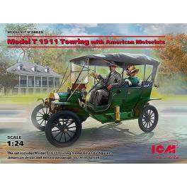 ICM-24025 Ford T 1911 Touring w/American Motorists