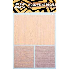 AK-9082 Wood Veins Decals