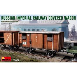 MNA-39002 Russian Imperial Railway Cover Wagon