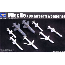 TRU-03306 US Aircraft Weapons: Missile Set