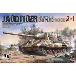TAK-8001 Jagdtiger Early/Late production