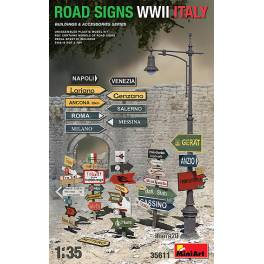 MNA 35611 Road Sings WWII Italy