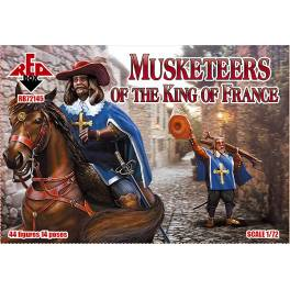 RED-72145 Musketeers of the King of France
