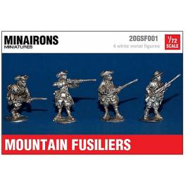MIN-20GSF001 Mountain fusiliers - War of Spanish Succession