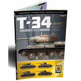 AMIG-6145 T-34 Colors. T-34 Tank Camouflage Patterns in WWII