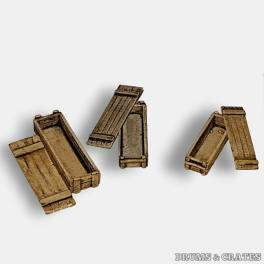 DC-1289 Ammo/Weapons Closed Wooden Boxes Set E2 (long)