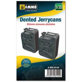 AMIG-8144 Dented Jerrycans