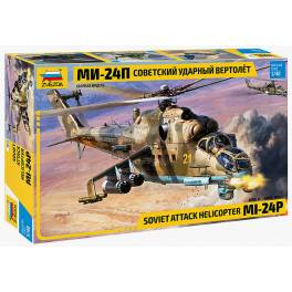 ZVD-4812 MIL MI-24P Russian Attack Helicopter