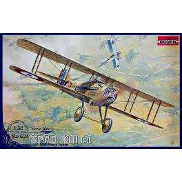 ROD-634 Spad XIIIc1 (Early) WWI French Fighter
