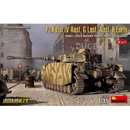 MNA-35333 Panzer IV Ausf.G-Last/H-Early