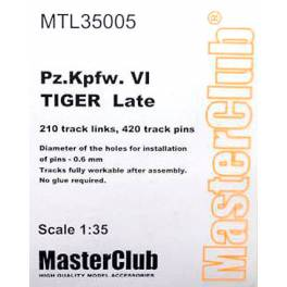 MTL-35005 Metal Tracks for Tiger Late