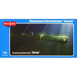 "MKM-35009 Soviet diver propulsion vehicle  ""Sirena"" - 1/35 -"
