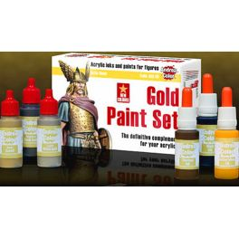 AND-ACS008 Gold Paint Set